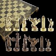 Шахматы оригинальные сувенирные  Троянская война MP-S-19-C-54-BRO