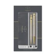 Набор Паркер (Parker) IM Core TK223 Brushed Metal GT ручка перьевая и шариковая 2093217