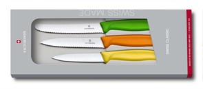 Набор из 3 ножей Викторинокс (Victorinox) Swiss Classic 6.7116.31G