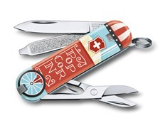 Нож перочинный Victorinox Classic LE2019 Let it Pop 0.6223.L1910