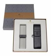 Набор: чехол на две ручки в подарочной коробке с местом под ручку Кросс (Cross) AC287-1