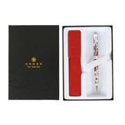 Подарочный набор Кросс (Cross): шариковая ручка Кросс (Cross) Botanica Red Hummingbird Vine AT0642-3/472
