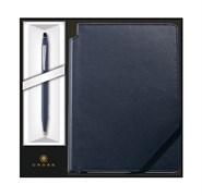 Набор: Шариковая ручка Click Midnight Blue и Записная книжка Journal Midnight Blue Кросс (Cross) AT0622-121/