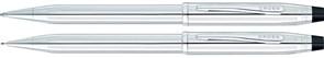 Набор: шариковая ручка и механический карандаш Cross 350105WG