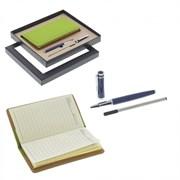 Записная книжка с ручкой, набор, L20 W20 H3 см