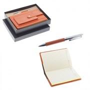Записная книжка с ручкой, набор, L14 W21 H2 см