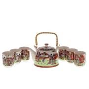 Чайный набор на 6 персоны, 7 предметов 726010