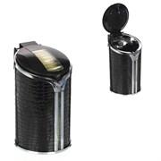 Пепельница с подсветкой для автомобиля в подстаканник, L6,5 W6,5 H11,5 см