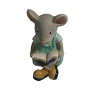 Фигурка декоративная Мышонок Бильбо (серый) L5,5 W2,5 H6 см