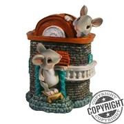Копилка Мышки в кирпичном домике L9,5 W11 H13,5 см
