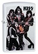 Зажигалка Zippo KISS® с покрытием White Matte 49017