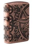 Зажигалка Zippo Armor™ с покрытием Antique Copper™ 49000
