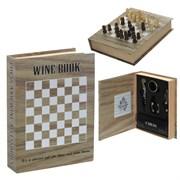Набор сомелье с шахматами 4 предмета L16 W4 H21 см 714153