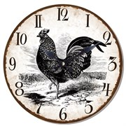 Часы настенные L33,8 W3,5 H33,8 см 235432