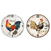 Часы настенные L33,8 W3,5 H33,8 см 235433