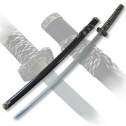 Меч самурайский. Черные ножны