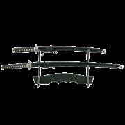 Набор самурайских мечей, 2 шт. Ножны черные