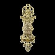 Полочка-держатель для спичечного коробка настенная декоративная