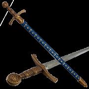 Меч средневековый, в ножнах DE-5201
