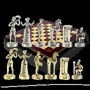 Шахматный набор Минойский период MP-S-8-36-RED
