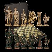 Шахматы эксклюзивные Греко-Романский Период MP-S-3-A-28-BRO