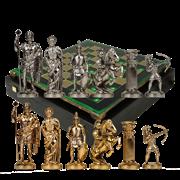 Шахматы подарочные  Античные войны MP-S-10-44-GRE
