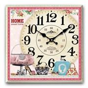 Часы настенные декоративные L32 W6 H32 см