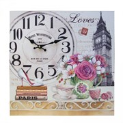 Часы настенные декоративные L38 W2,5 H38 см
