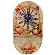 Часы настенные декоративные L24,5 W5,5 H45 см