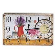Часы настенные декоративные L50 W3,5 H32см