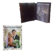Фотоальбом-фоторамка для фото 10*15, H21 см