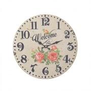 Часы настенные декоративные L34 W2 H34см 612954