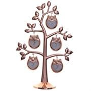 """Фоторамка """"Семейное дерево"""" для 5-ти фото, L19 W8,5 H29 cм"""