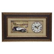 Часы настенные декоративные L46 W4,5 H27см 692184: