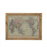 """Панно """"Карта"""" L100W2,8H76 см 209352"""