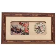 Часы настенные декоративные L46 W4,5 H27см 676763
