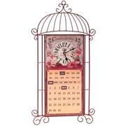 Часы настенные декоративные с календарем, L34 W7 H65см