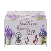"Шкатулка для украшений ""Цветы"", L17 W15 H11,5 см"