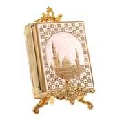 Шкатулка для Корана (с подставкой), L11/10  W11,5/4,5 H18/12 см