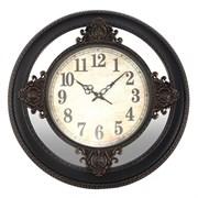 Часы настенные декоративные (с зеркальным элементом), L63 W6 H63см 726460