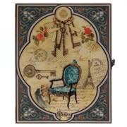 Ключница, L22 W5 H28 см 726169