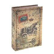 Шкатулка-книга с код. замком , L18 W7 H27 см 726134