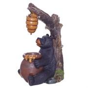 """Фонтан декоративный """"Медведь"""" L41 W30 H67,5 см"""