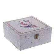 Шкатулка для украшений, L20 W20 H9 см