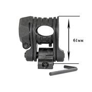 Крепление для фонаря на гладкоствольное оружие, High Quality Plastic 25-31 мм