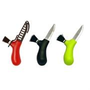 Нож Morakniv для грибов, нержавеющая сталь (красный, черный, зеленый)