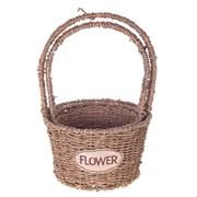 """Кашпо """"Flower"""", набор из 2-х шт H35/30 см"""
