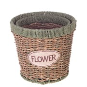 """Кашпо """"Flower"""", набор из 2-х шт H16/14,5 см 266415"""