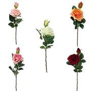 """Цветок искусственный """"Дикая Роза"""" H46 см"""