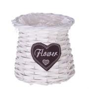 "Кашпо ""Flower"" L15 W15 H15 см"